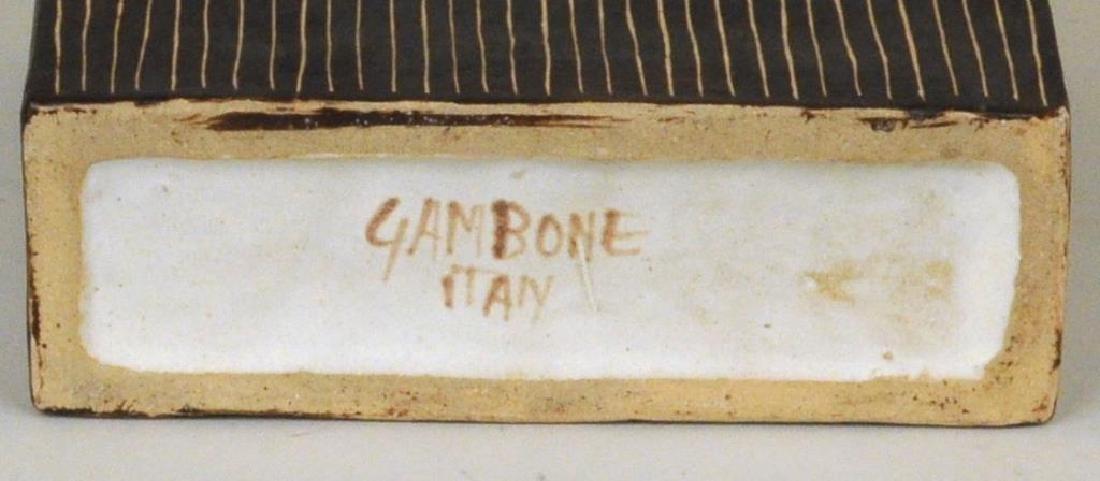 Bruno Gambone 2 Glazed Ceramic Vessels - 6