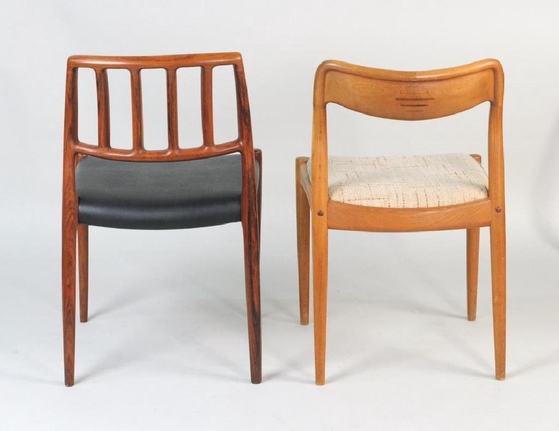 Two Modernist Low Back Side Chairs - 2