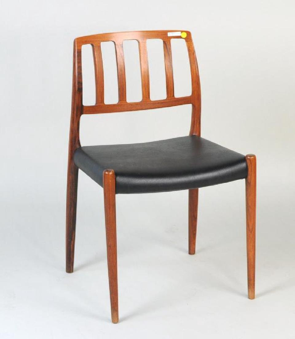 Two Modernist Low Back Side Chairs - 3