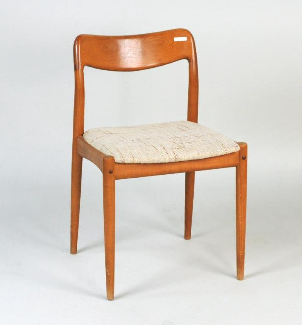 Two Modernist Low Back Side Chairs - 6