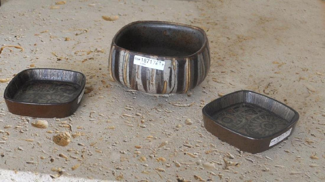 Three Royal Copenhagen Porcelain Items