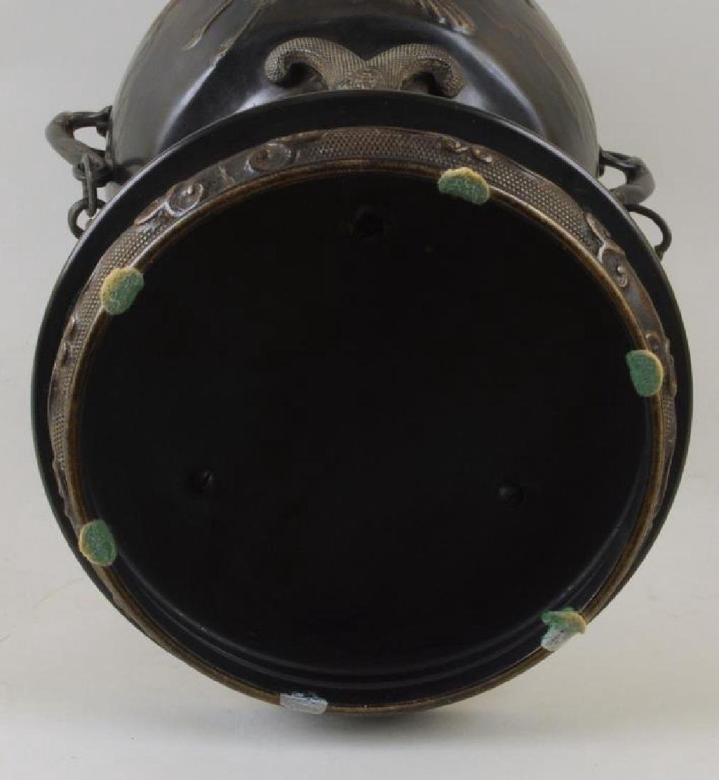 Large Asian Bronze Censer - 4