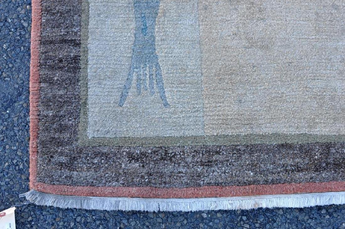 Modern Geometric/Abstract Fish Carpet - 3