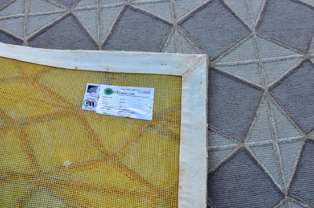 Modern Geometric Cube Design Room Size Carpet - 2