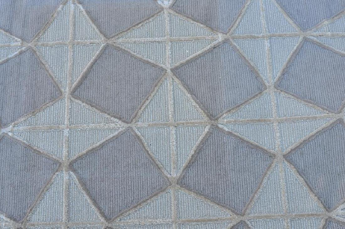 Modern Geometric Cube Design Room Size Carpet - 3