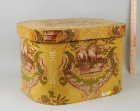 "Wallpaper Bandbox/Label ""Turtle Bay Band Box"""