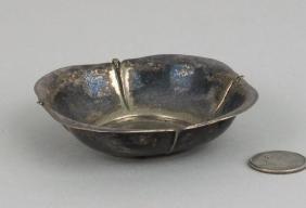 Native American Silver Dish