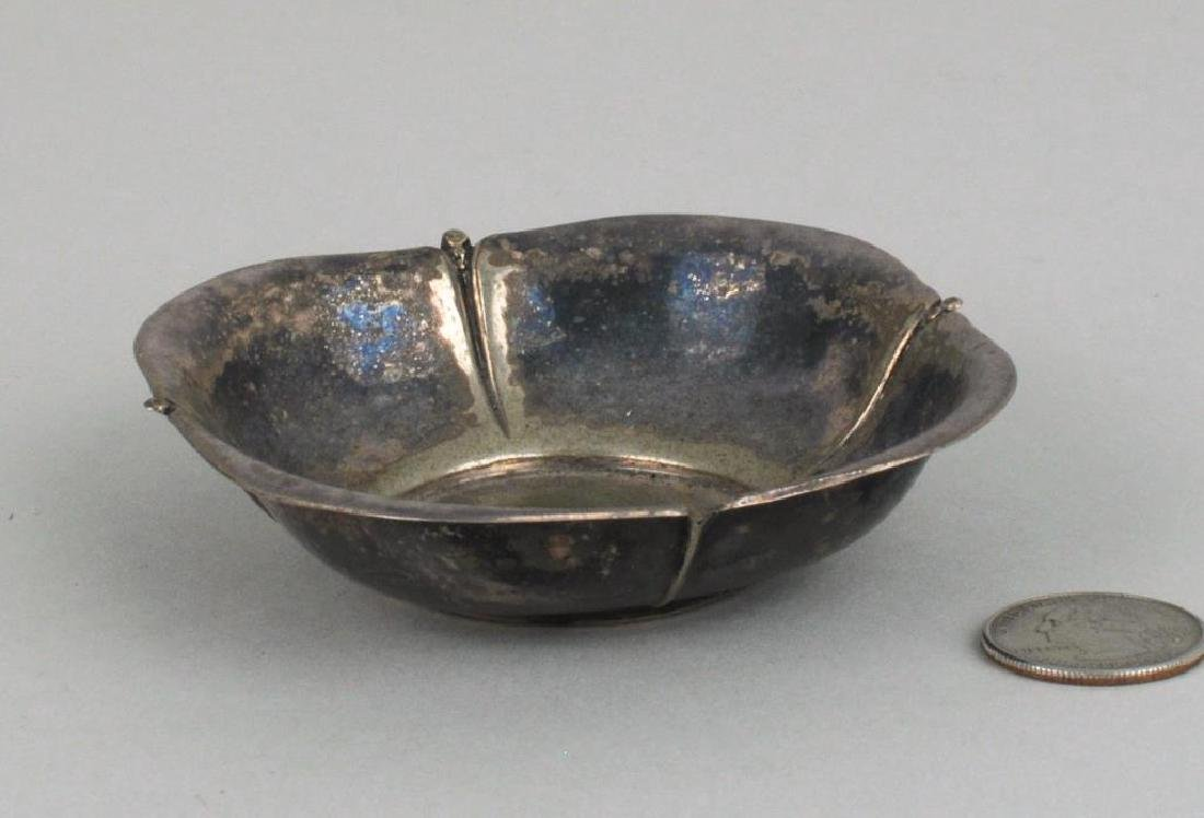 Native American Silver Dish