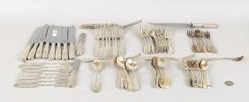 Partial International Silver Flatware Service