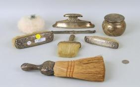 Gorham Sterling Silver Eight Piece Dresser Set