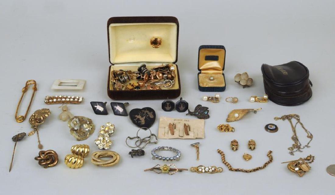 Group Of Vintage Men's & Women's Jewelry