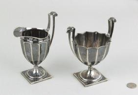 Tiffany & Co. Fluted Sterling Sugar & Creamer