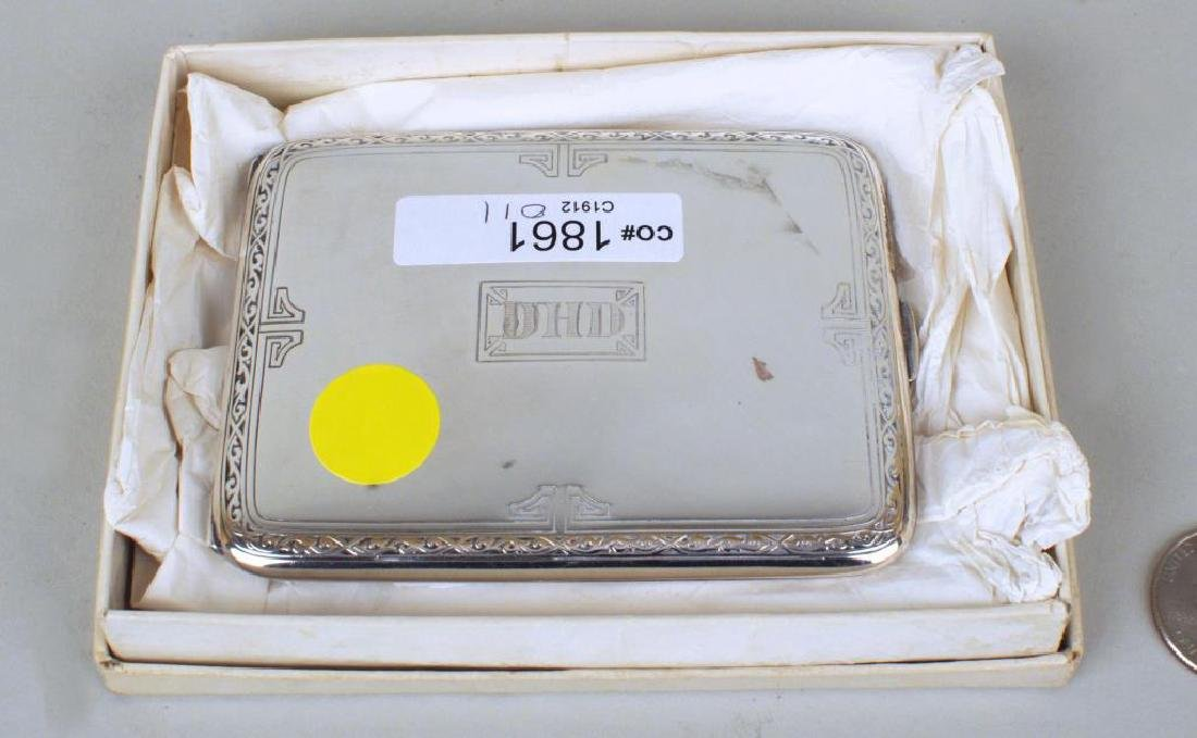 Sterling Cigarette Case