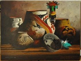 """Michael McCullough """"Native American Still Life"""""""