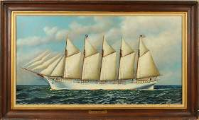 "Antonio Jacobsen, ""The Schooner St. Johns"" O/B"