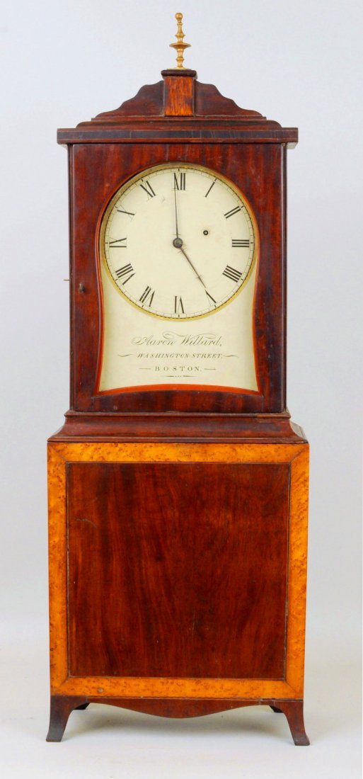 Aaron Willard Federal Bracket Clock