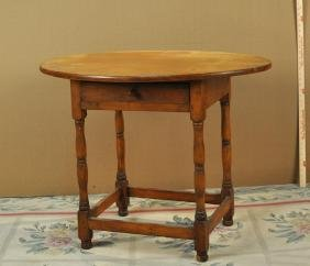American Oval Top Queen Anne Tavern Table