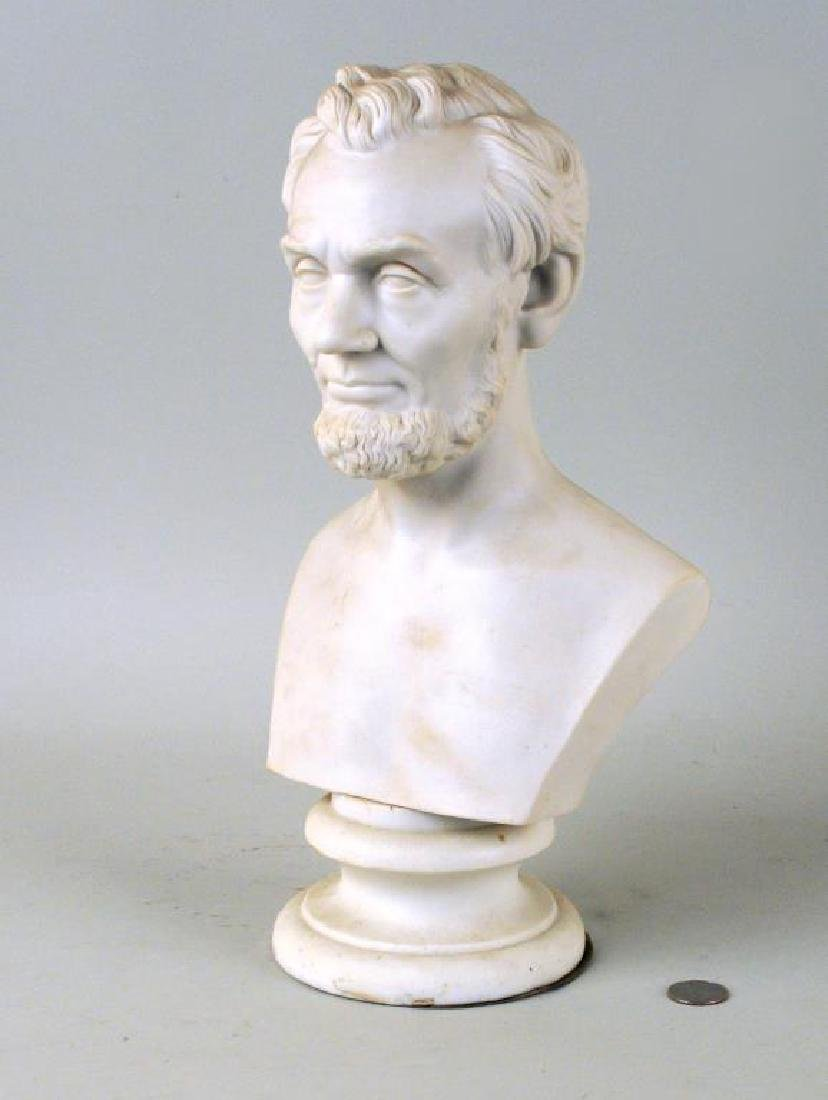 Martin Milmore, Parian Bust Abraham Lincoln