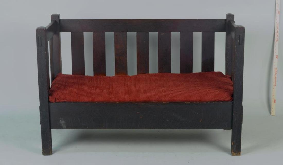 Stickley Brothers Mission Oak Loveseat