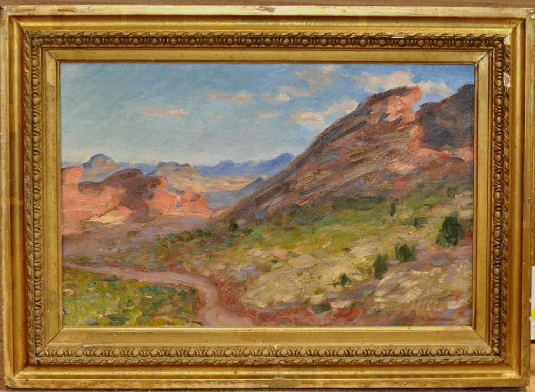"""Nicholas Haritonoff """"Landscape"""" O/C"""