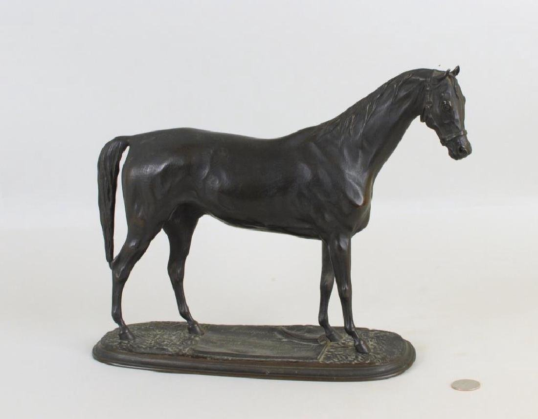 Pierre Lenordez (French, 1815-1892) Bronze Horse
