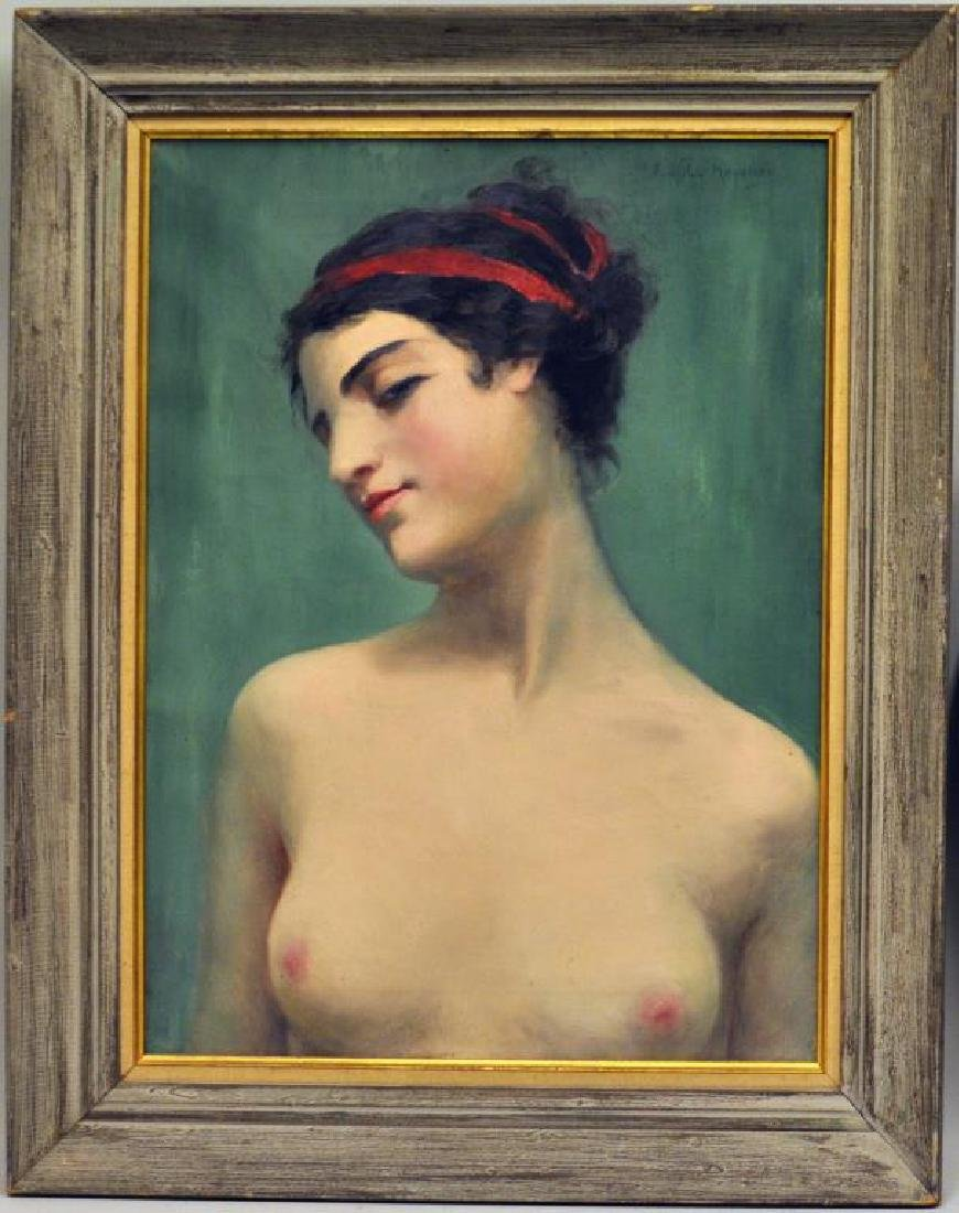 "Miecislaw Reyzner, ""Portrait of Young Woman"""