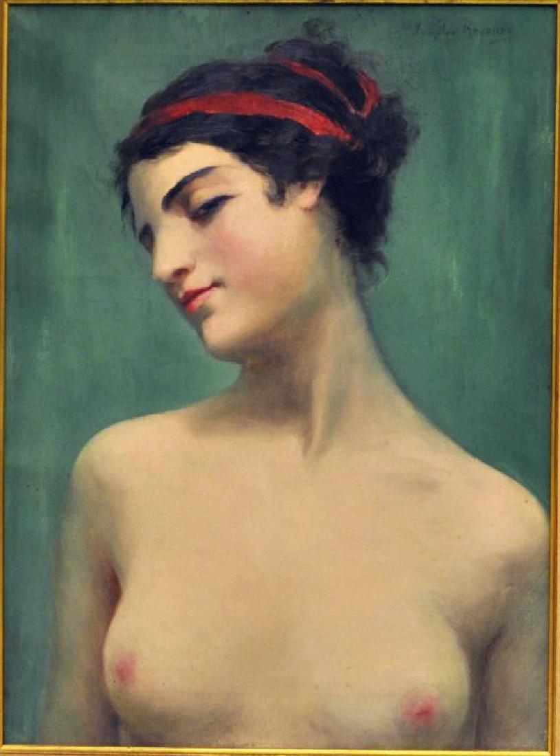 "Miecislaw Reyzner, ""Portrait of Young Woman"" - 2"