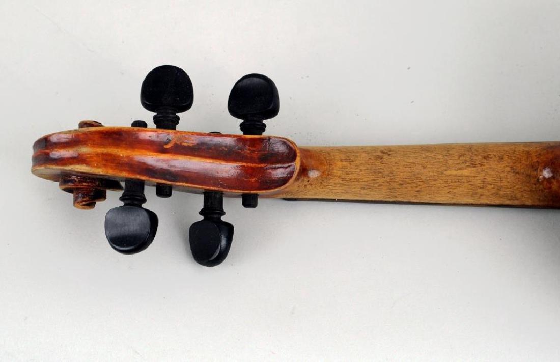 Vintage Cased Youth Size Violin - 10