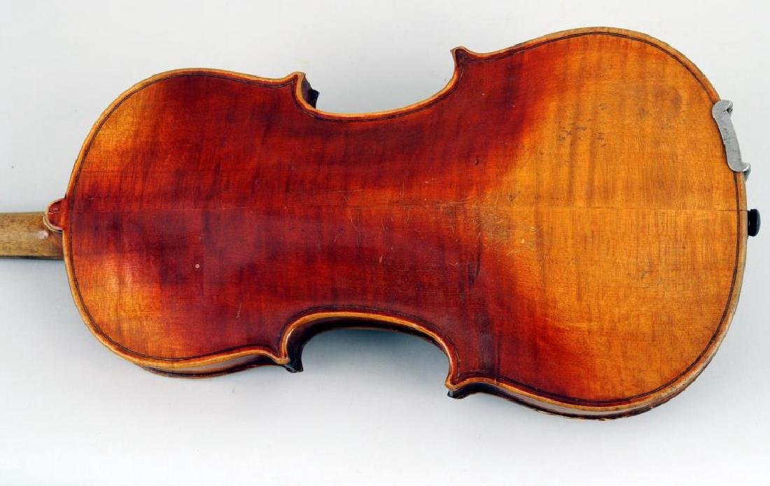 Vintage Cased Youth Size Violin - 6