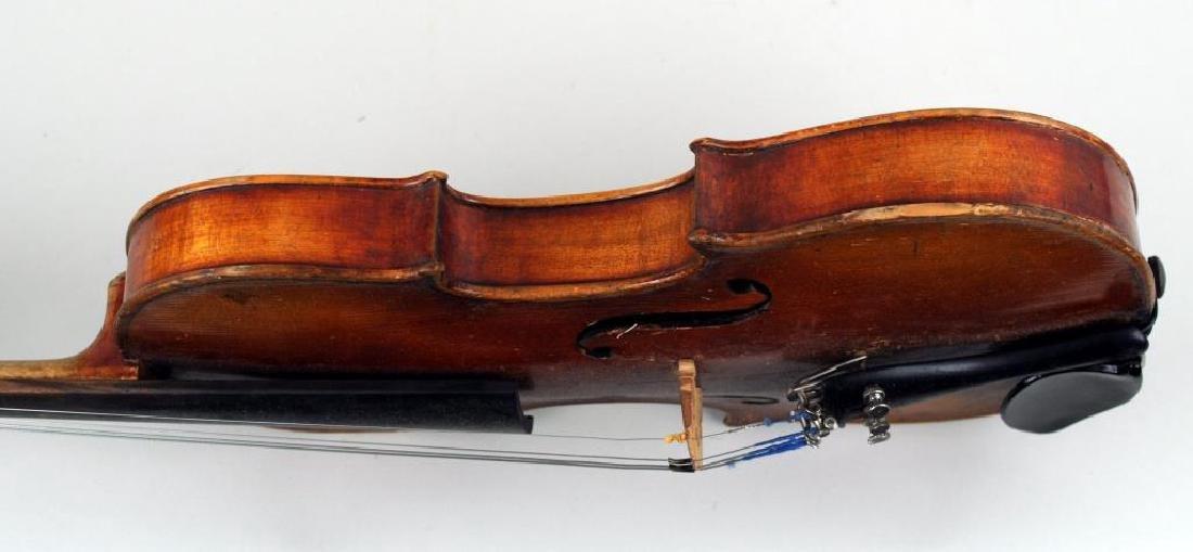 Vintage Cased Youth Size Violin - 7