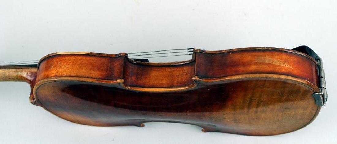 Vintage Cased Youth Size Violin - 8
