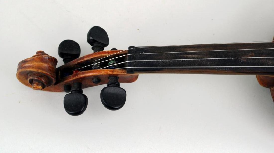 Vintage Cased Youth Size Violin - 9