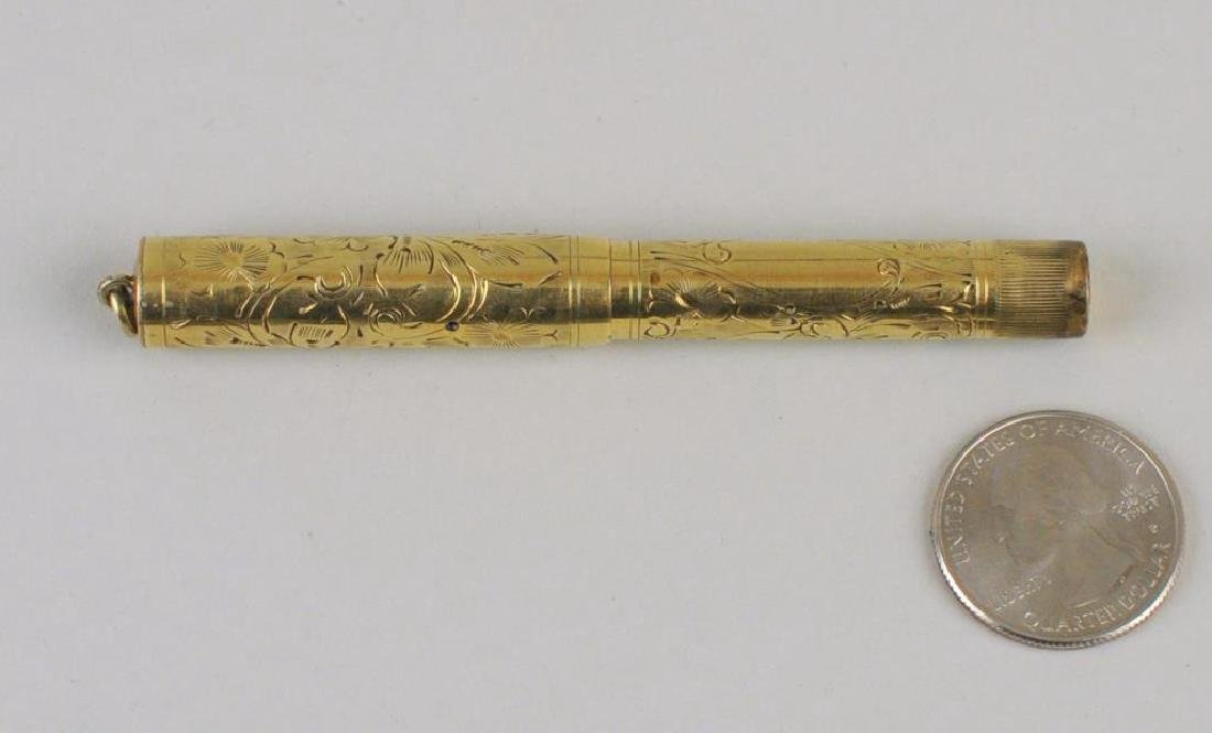 A Waterman Gold Plated Ink Pen - 2