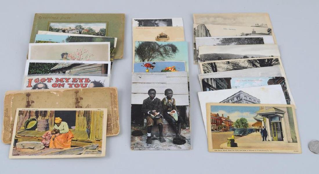 Group Vintage Post Cards/First Day Covers