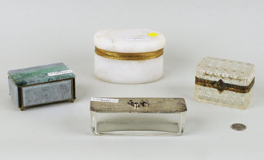 Group Four Decorative Boxes