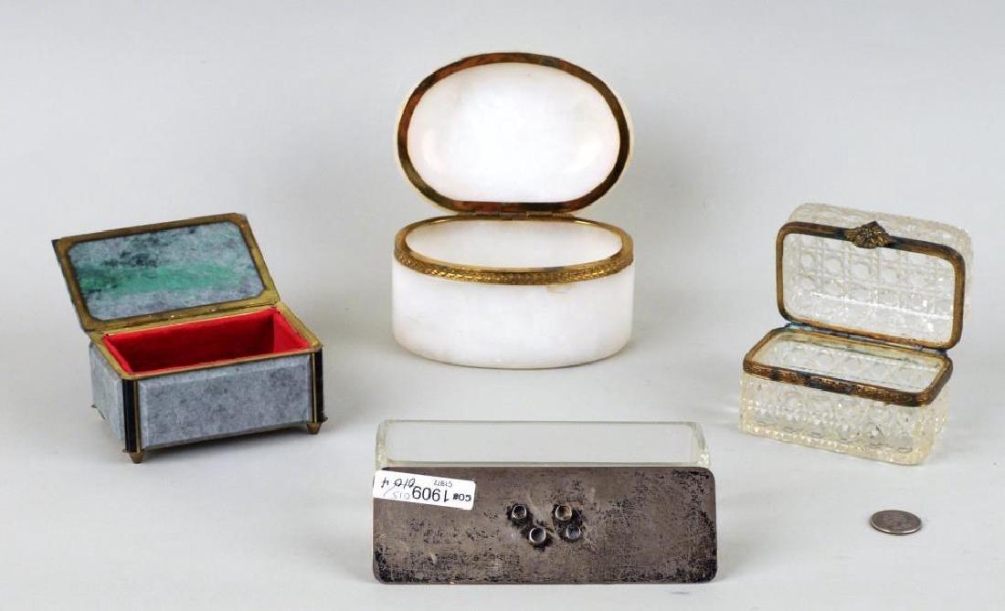 Group Four Decorative Boxes - 2