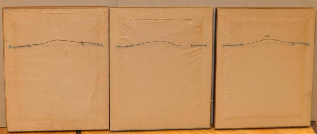 3 Framed Hand Colored Lithographs, Indian Chiefs - 2
