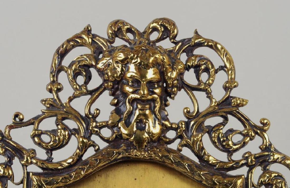 Group Of Three Brass Items - 4