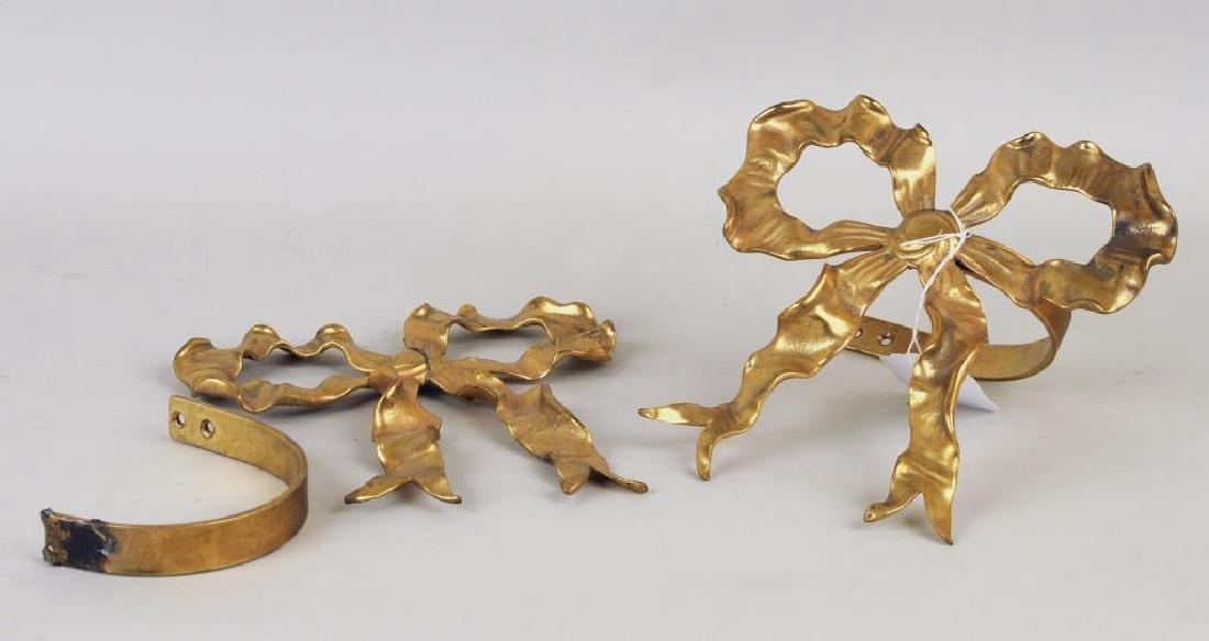 Group Of Three Brass Items - 5