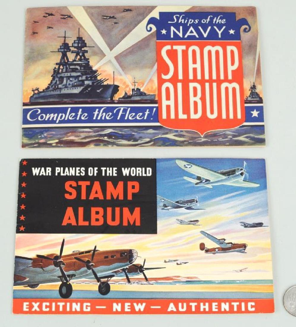 Two World War II Patriotic Stamp Albums - 2