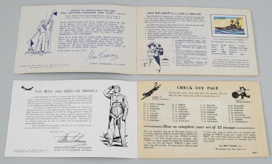 Two World War II Patriotic Stamp Albums - 3