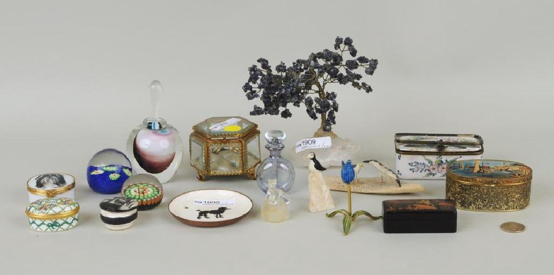 Group Of Miscellaneous Dresser Items
