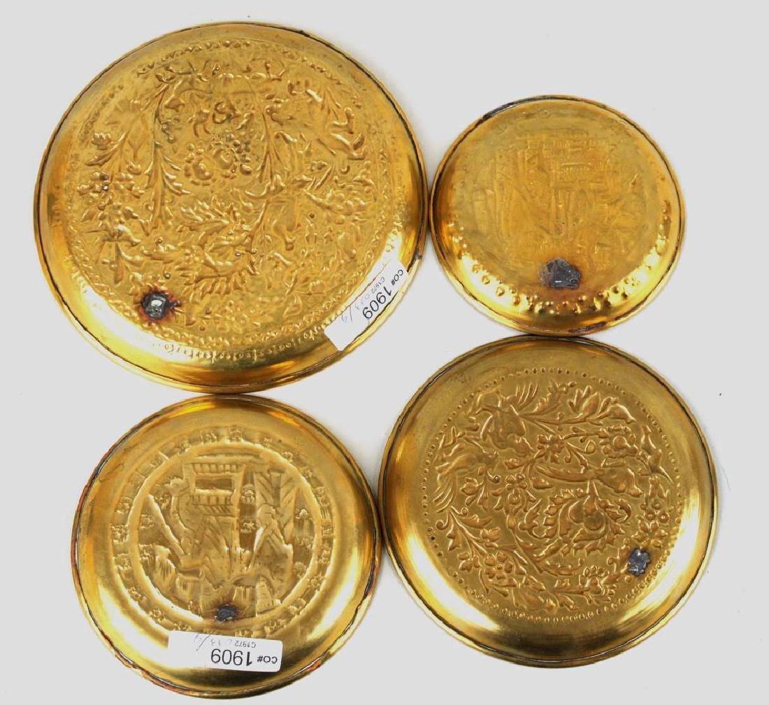 Group Nine Decorative Metal Items - 3
