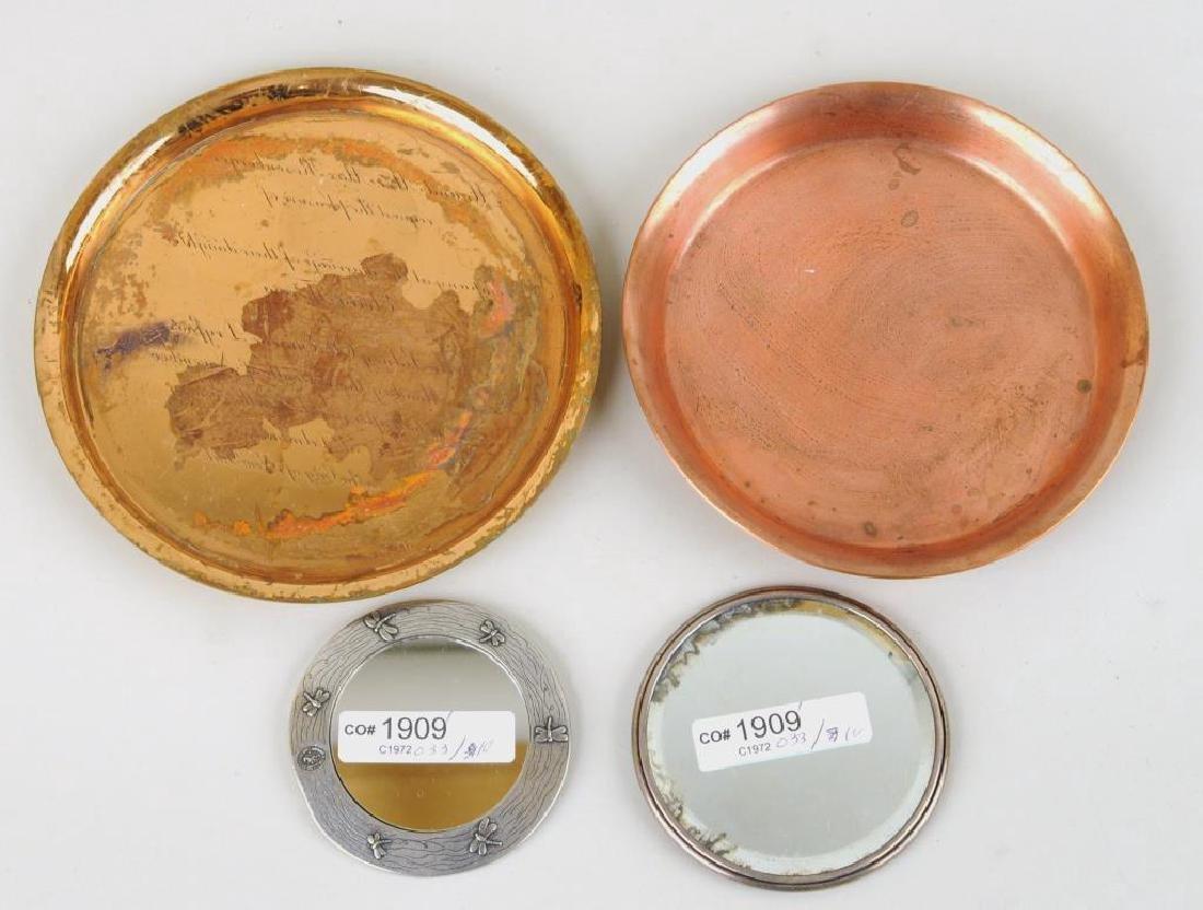 Group Nine Decorative Metal Items - 4