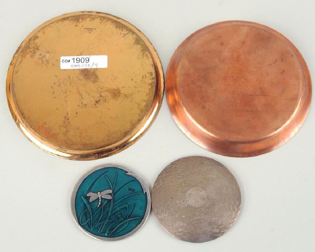 Group Nine Decorative Metal Items - 5