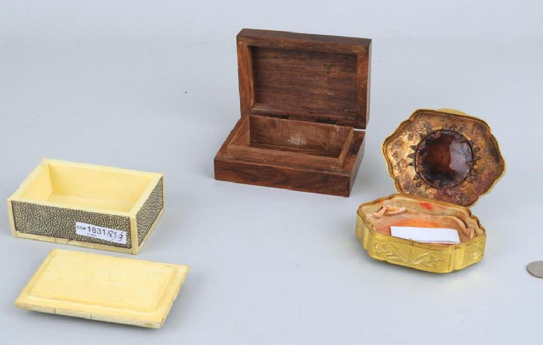 Three Trinket Boxes - 2