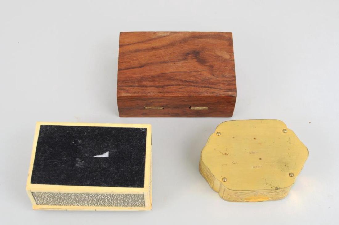 Three Trinket Boxes - 3