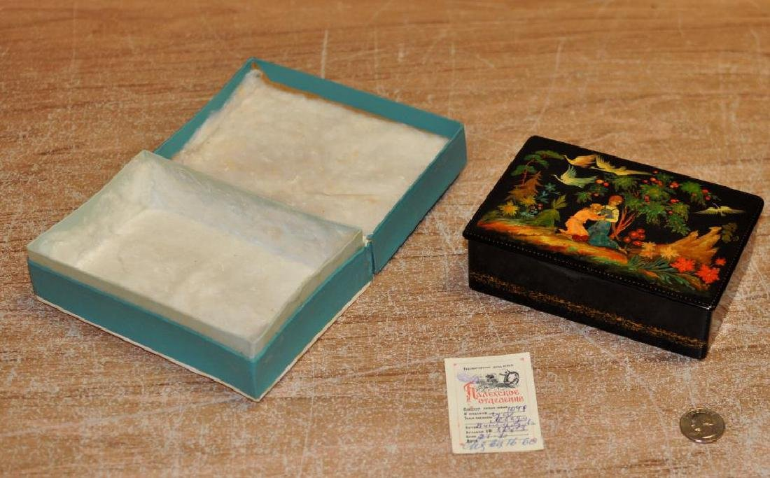 Vintage Russian Lacquer Box