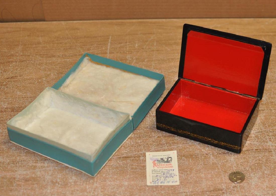 Vintage Russian Lacquer Box - 2