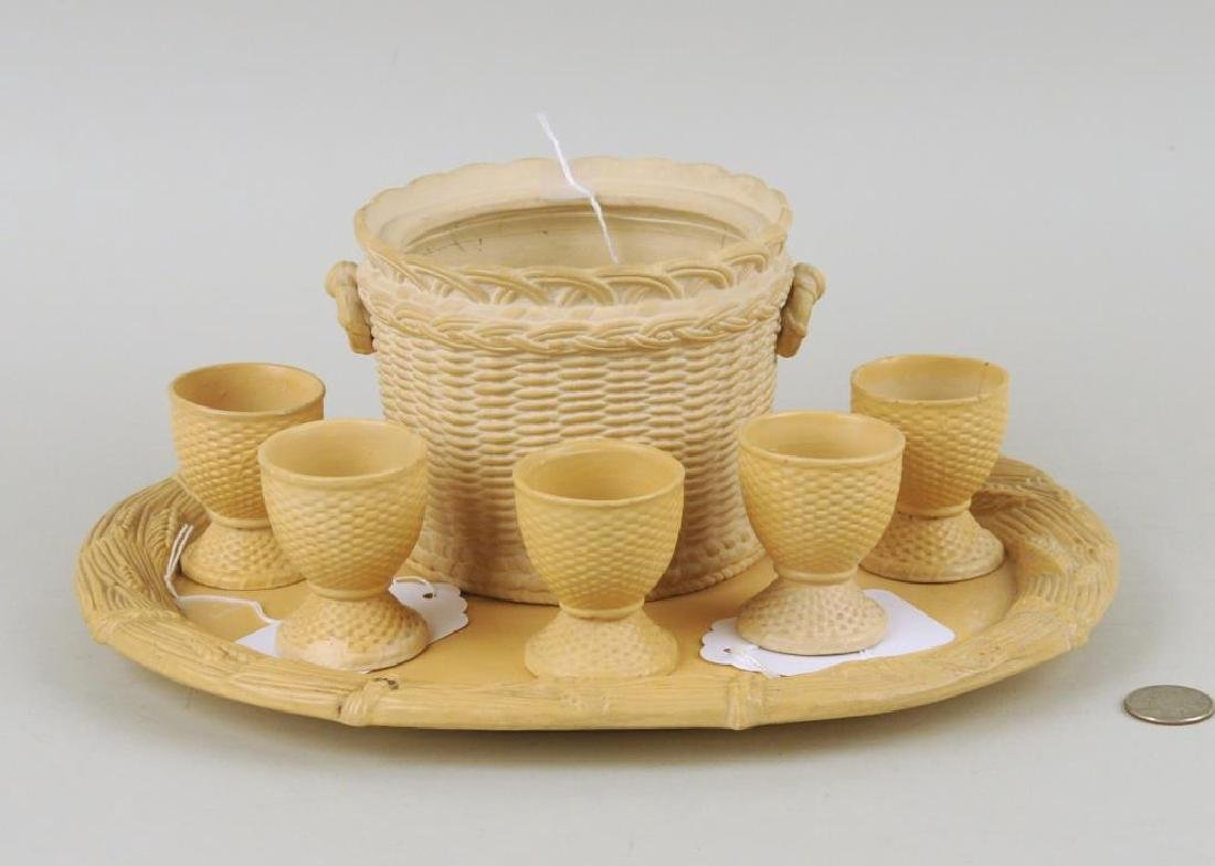 Group Seven Wedgwood Style Pottery Items